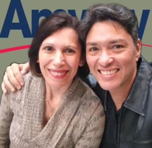 Vilma e Alexandre Camargo